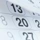 Blätternder Kalender